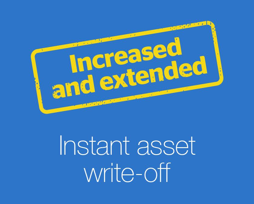 Instant asset write-off thresholds